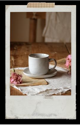 SVELTE Coffee Cup & Saucer