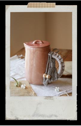 COLLAB by AnaBanana Macramé Teapot